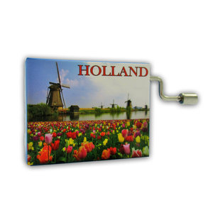 Typisch Hollands Music box - Holland - The wind beneath my wings