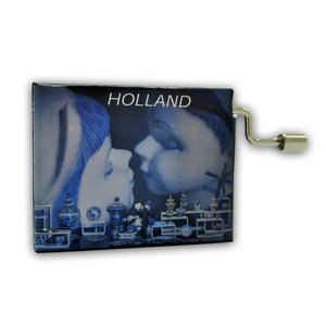 Typisch Hollands Muziekdoosje - Holland - Happy Birthday to You