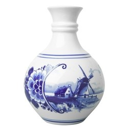 Delft blaue Vasen