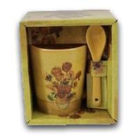 Memoriez Vincent van Gogh espresso mug - Sunflowers