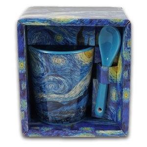 Memoriez Vincent van Gogh Espressotasse - Sternenhimmel