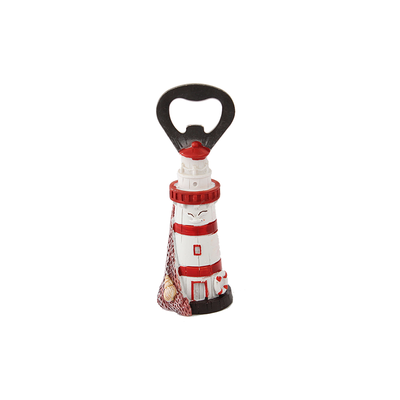 Typisch Hollands Lighthouse red / white as a bottle opener