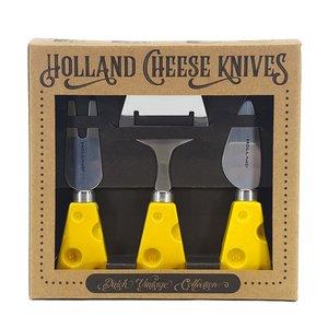 Typisch Hollands Kaasmesjes - in cadeauverpakking  (kaasmotief)