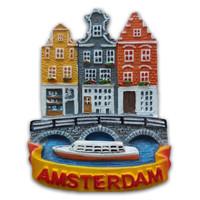 Typisch Hollands Magnet Amsterdam - Kanalgürtel