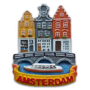 Typisch Hollands Magneet Amsterdam - Grachtengordel