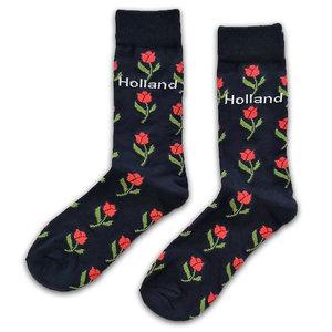 Holland sokken Damessokken - Holland Tulpen