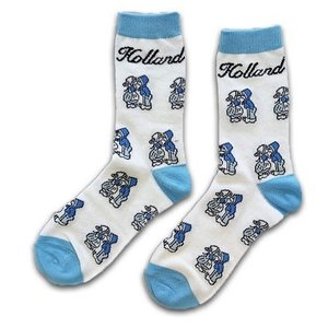 Holland sokken Men's socks - Holland blue / white