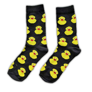 Holland sokken Socks - Rubber Ducks - Black