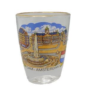 Typisch Hollands Borrelglas Amsterdam