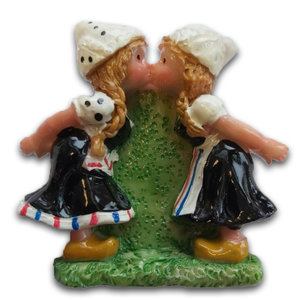 Typisch Hollands Magnet Lesbo Paar
