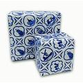 Typisch Hollands Rol cadeaupapier Delfts blauw