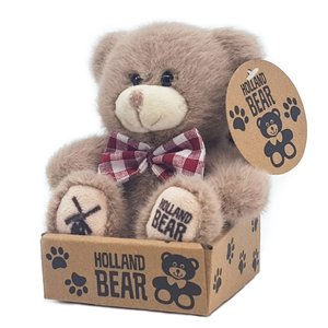 Typisch Hollands Plush Holland bear - Brown