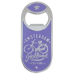 Typisch Hollands Magnetische opener - Dutch Classics - Fiets - Amsterdam Holland