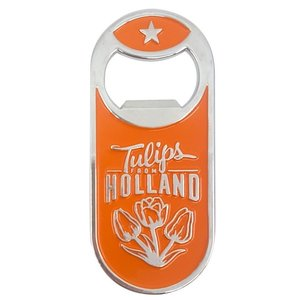 Typisch Hollands Magnetische opener - Dutch Classics - Oranje - Tulpen - Holland