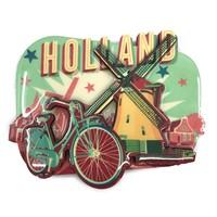 Typisch Hollands Magneet Vintage Holland windmolen