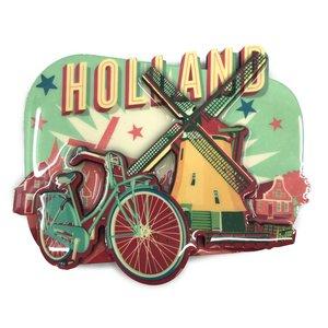 Typisch Hollands Magnet Vintage Holland Windmühle
