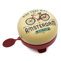 Typisch Hollands Fietsbel Amsterdam -Vintage - Bicycle decoration