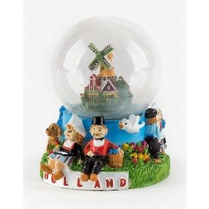Typisch Hollands Waterbol Hollands paartje 7 cm