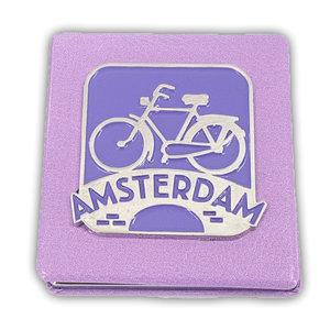 Typisch Hollands Spiegelbox - Rechteck - Amsterdam - Fahrrad