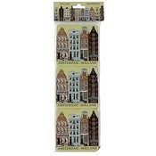 Typisch Hollands Coasters Facade Houses - Amsterdam - Holland