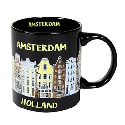 Typisch Hollands Mug - Amsterdam - Holland facade houses