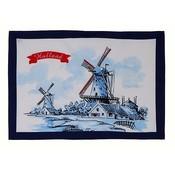 Typisch Hollands Tea towel - Mills - Delft - Copy