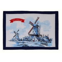 Typisch Hollands Tea towel - Mills - Delft - Copy