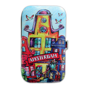 Typisch Hollands Manicure set Amsterdam - Facade houses