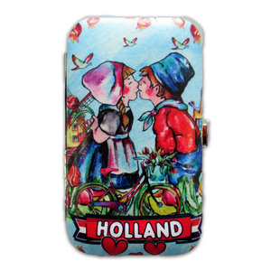 Typisch Hollands Manicure set - Dutch kissing couple