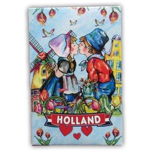 Typisch Hollands Spielkarten Holland Kissing Couple