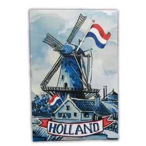 Typisch Hollands Spielkarten Holland Mill - Niederländische Flagge