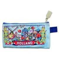 Typisch Hollands Pen pouch Holland kiss couple