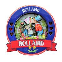 Typisch Hollands Magneet Holland Rond - Kuspaar