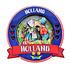 Typisch Hollands Magnet Holland Round - Paar küssen