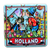 Typisch Hollands Spiegelbox Holland - Kusspaar