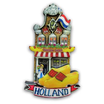 Typisch Hollands Magnet facade house - Klompen-Shop