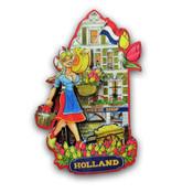 Typisch Hollands Magnet facade house - Kaas Shop