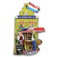 Typisch Hollands Magnetfassadenhaus - Haring Shop