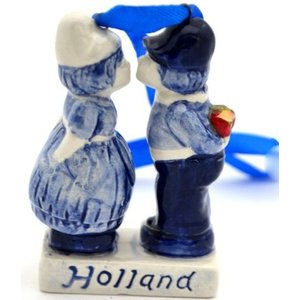 Typisch Hollands Weihnachtsdekoration (Boer Paare)