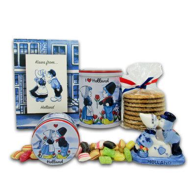 www.typisch-hollands-geschenkpakket.nl Geschenkpaket Küsse aus Holland