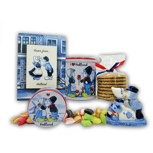 www.typisch-hollands-geschenkpakket.nl Cadeau pakket Kisses from Holland