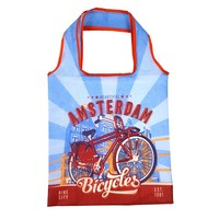 Typisch Hollands Foldable bag Amsterdam Vintage blue