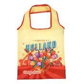 Typisch Hollands Opvouwbaar tasje Holland Vintage -Tulpen