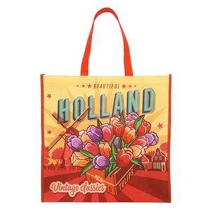 Typisch Hollands Luxe Shopper Tulpen Holland - Vintage