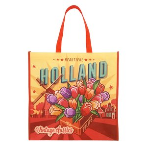 Typisch Hollands Luxury Shopper Tulips Holland - Vintage