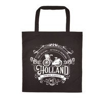 Typisch Hollands Tas katoen - Holland - Fiets - Classic