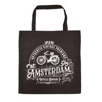 Typisch Hollands Tasche Baumwolle - Amsterdam - Fahrrad - Classic