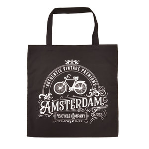 Typisch Hollands Bag cotton - Amsterdam - Bicycle - Classic