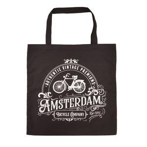 Typisch Hollands Tas katoen - Amsterdam - Fiets - Classic