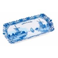 Typisch Hollands Tray Holland - Delft blue